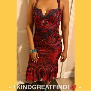 Diane Von Furstenberg Jaguar knit sleeveless drs 4